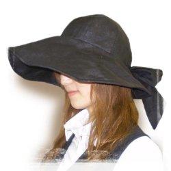 画像1: 手軽に日除け「つば広帽子」キャペリーヌ(作り方説明書付 実物大型紙)
