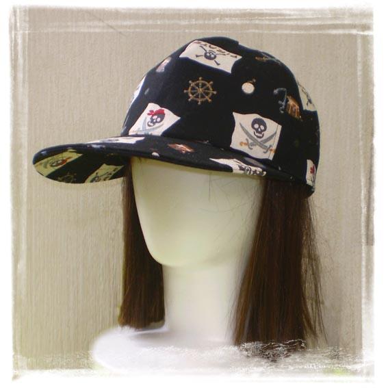 キャップ野球帽黒