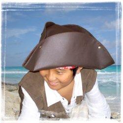 画像3: トリコーン(海賊帽子)/キャペリーヌ(作り方説明書付 実物大型紙)